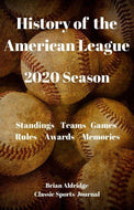 History of the American League 2020 Season
