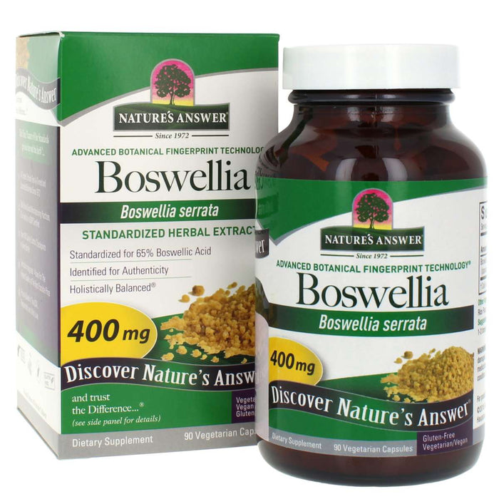 Nature's Answer, Boswellia Extract Capsules Standardized (90 Vegetarian Capsules)