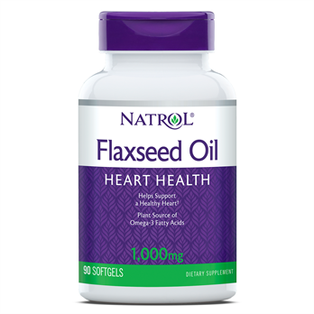 Natrol, Flax Seed Oil 1000mg (200 Softgels)