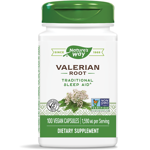 Nature's Way, Valerian Root (100 Capsules)