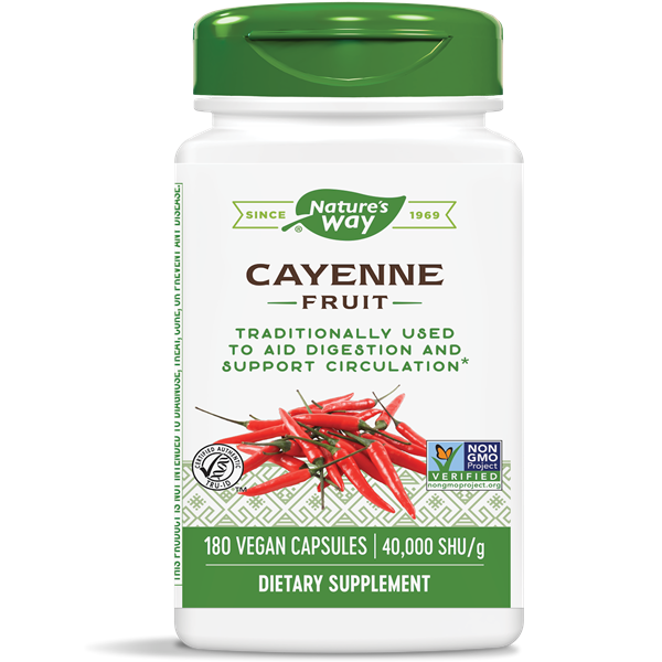 Nature's Way, Cayenne 450mg (180 Capsules)
