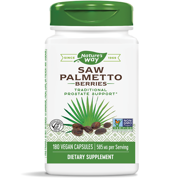 Nature's Way, Saw Palmetto Berries 585mg (180 Capsules)