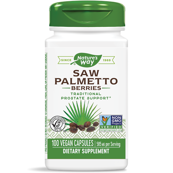 Nature's Way, Saw Palmetto Berries 585mg (100 Capsules)