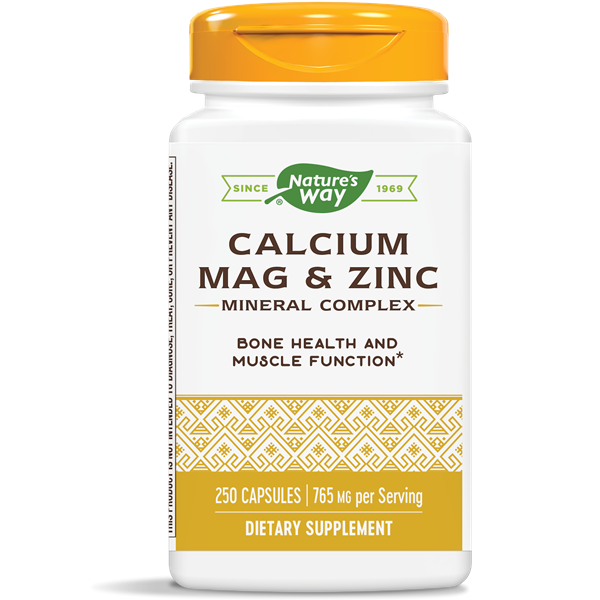 Nature's Way, Calcium Magnesium & Zinc (250 Capsules)