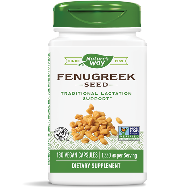 Nature's Way, Fenugreek 610mg (180 Capsules)