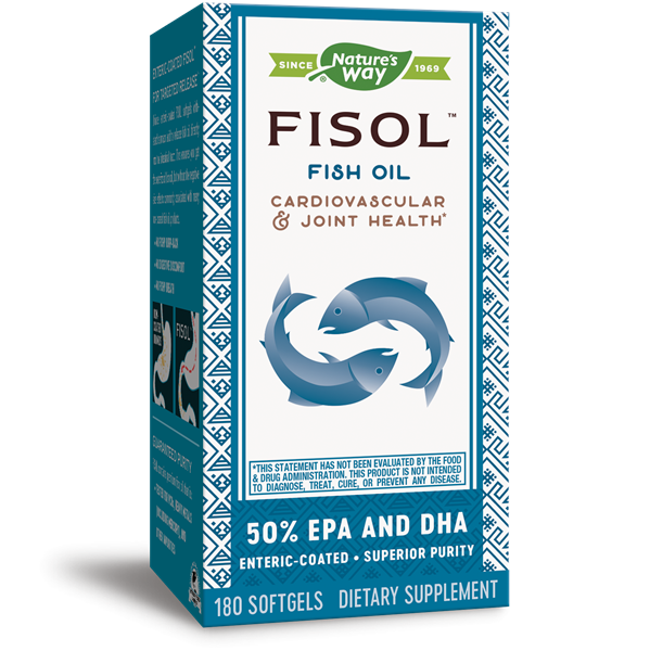 Nature's Way, Fisol Delayed-Release Fish Oil (180 Softgels)