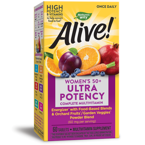 Nature's Way, Alive! Once Daily Women's 50+ Ultra Potency (60 Tablets)