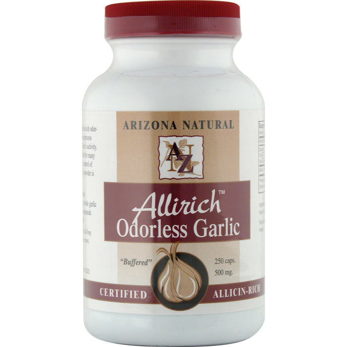Arizona Natural, Allirich Garlic 500mg (200 Capsules)