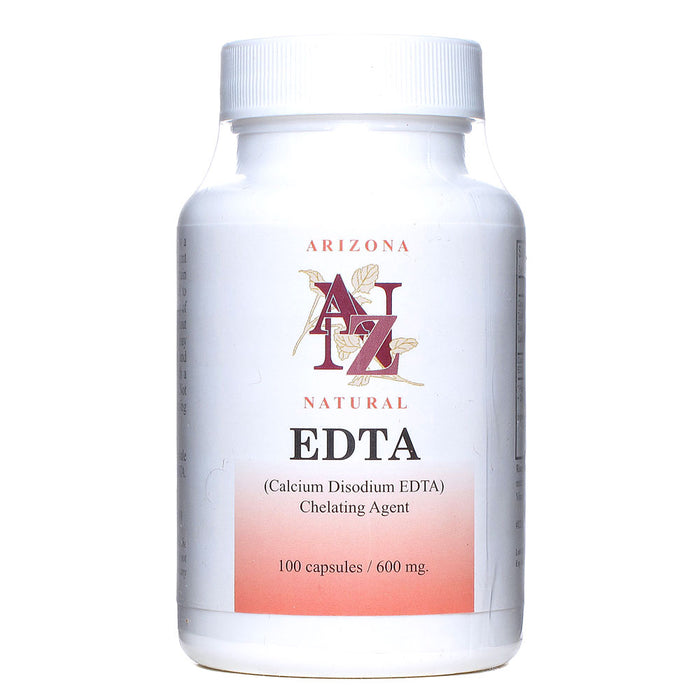 Arizona Natural, EDTA 600mg (100 Capsules)