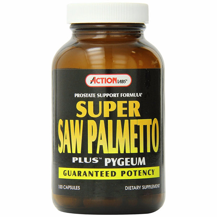 Action Labs, Super Saw Palmetto Plus Pygeum (100 Capsules)