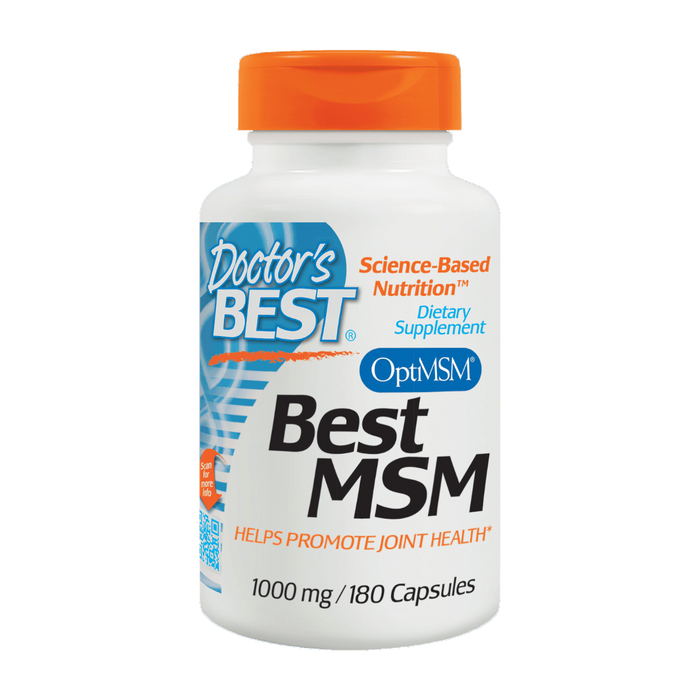 Doctor's Best, MSM 1000 mg (180 Capsules)