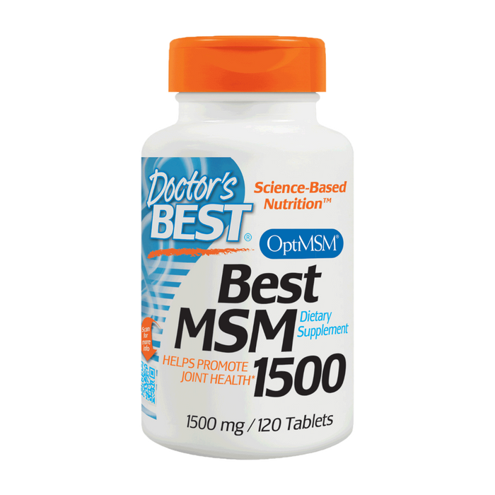 Doctor's Best, MSM 1500 mg (120 Tablets)