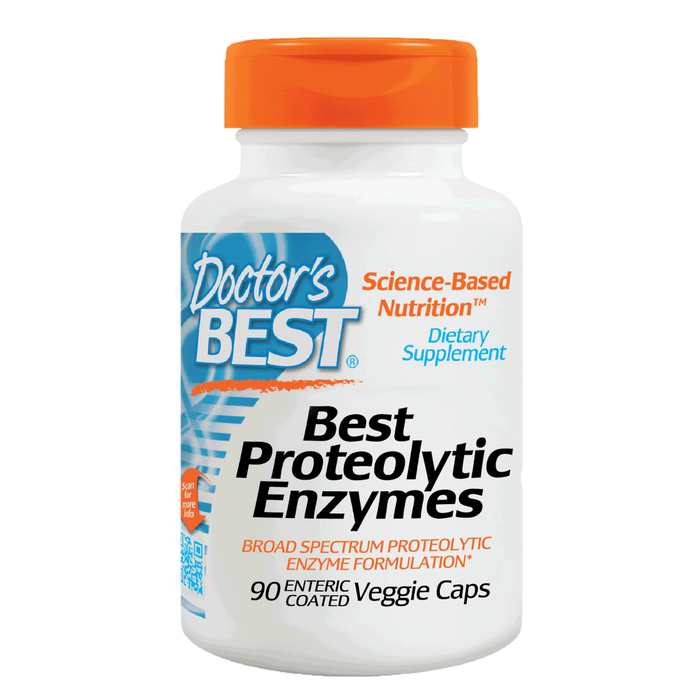 Doctor's Best, Proteolytic Enzymes (90 Vegetarian Capsules)