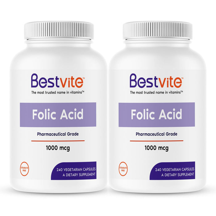 Folic Acid 1000mcg