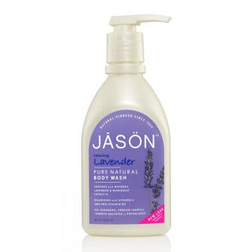 Jason Natural Products, Body Wash Calming Lavender (30 oz)