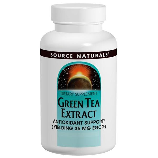 Source Naturals, Green Tea Extract 500mg (120 Tablets)