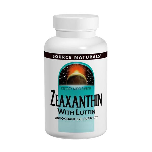 Source Naturals, Zeaxanthin with Lutein 10mg (60 Capsules)