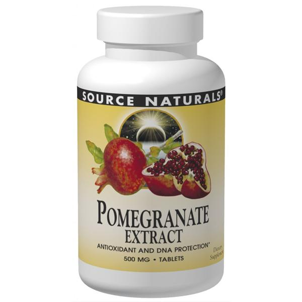 Source Naturals, Pomegranate Extract 500mg (240 Tablets)