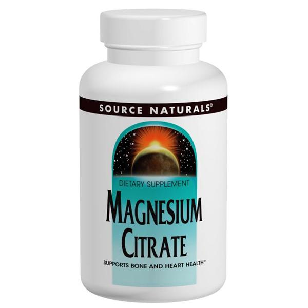 Source Naturals, Magnesium Citrate 133mg (180 Capsules)
