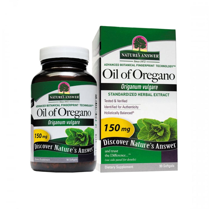 Nature's Answer, Oil of Oregano 150mg (90 Softgels)