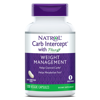 Natrol, Carb Intercept with Phase 2 (120 Capsules)