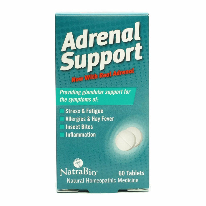 NatraBio, Adrenal Support (60 Tablets)