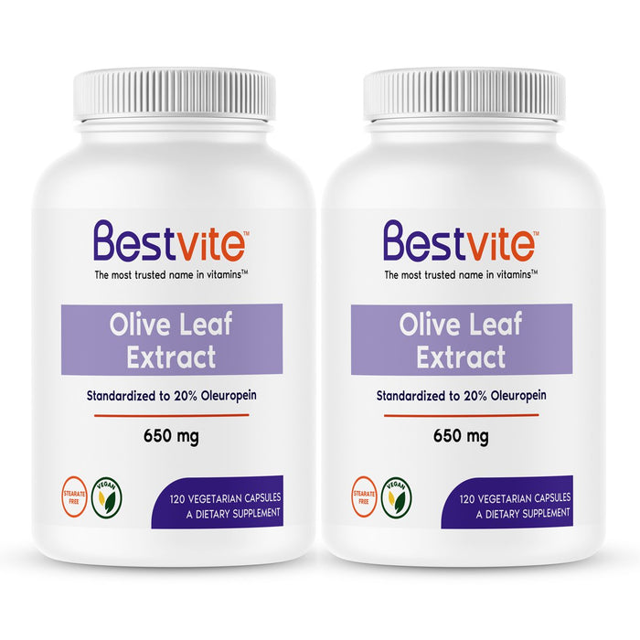 Olive Leaf Extract 650mg
