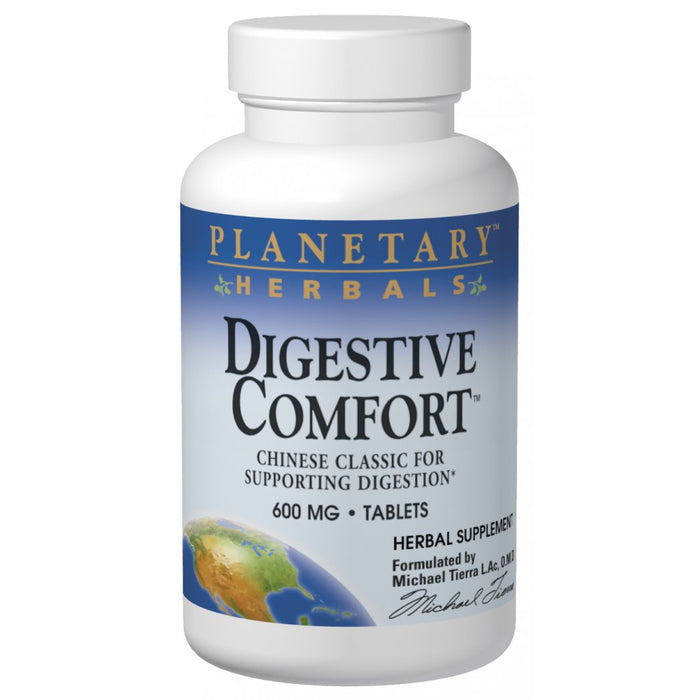 Planetary Herbals, Digestive Comfort 600mg (120 Tablets)