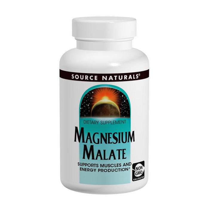 Source Naturals, Magnesium Malate 1,250mg (180 Tablets)