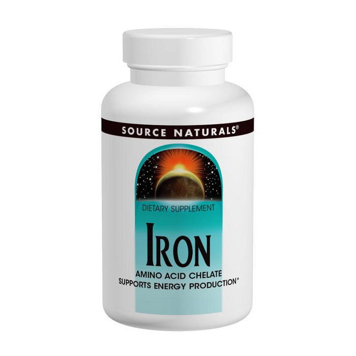 Source Naturals, Iron 25mg (250 Tablets)