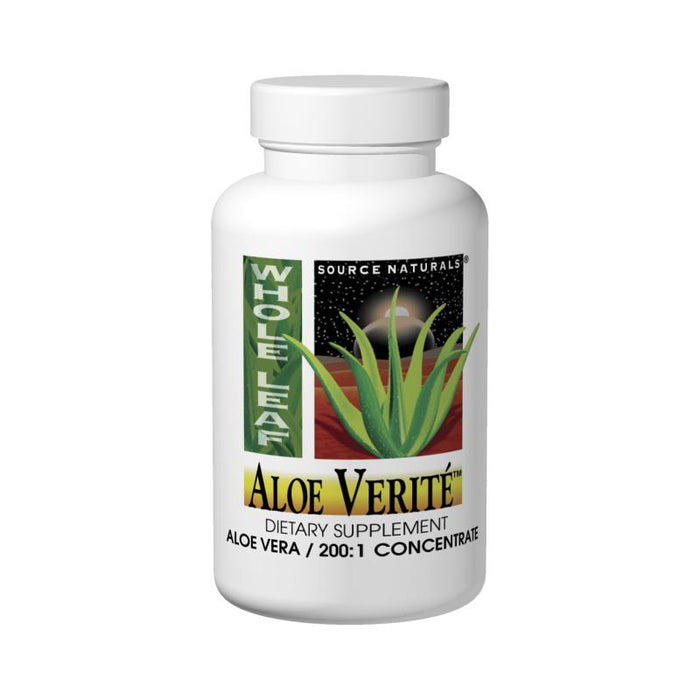 Source Naturals, Aloe Verite 200mg (60 Tablets)