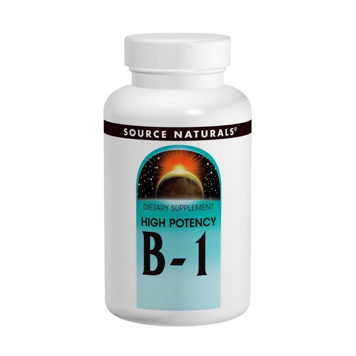Source Naturals, Vitamin B-1 500mg (High Potency) (100 Tablets)