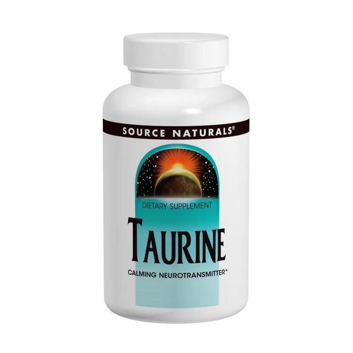 Source Naturals, Taurine 500mg (120 Tablets)