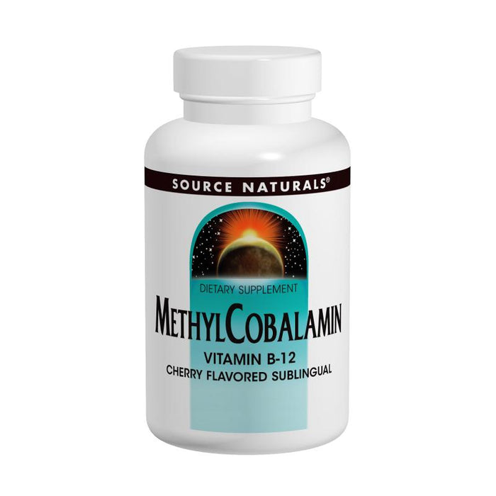 Source Naturals, MethylCobalamin 1mg - Cherry Flavored (120 Tablets)
