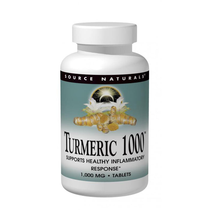 Source Naturals, Turmeric 1000 Extract 1,000mg (60 Tablets)