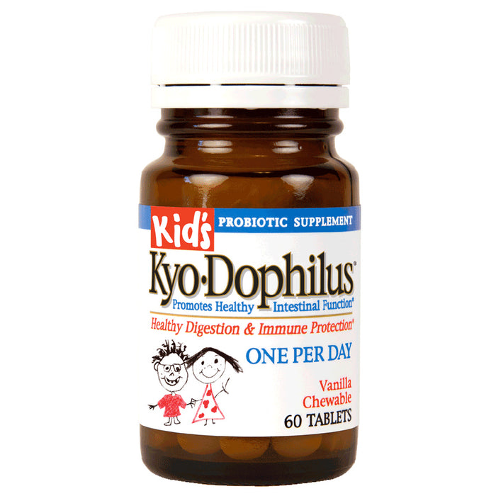 Kyolic, Kid's Kyo-Dophilus (Heat Stable Probiotic) (60 Tablets)