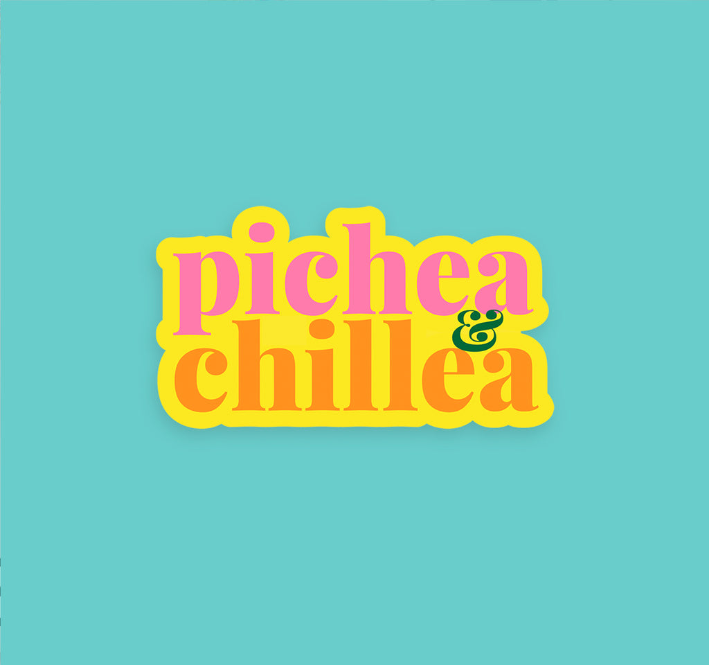 PICHEA & CHILLEA STICKER