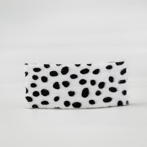 Oversized Snap Clips in Snow Leopard (Set of 2)