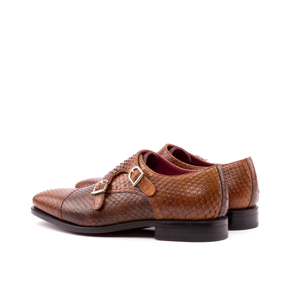 Cognac & Medium Brown Exotic Python
