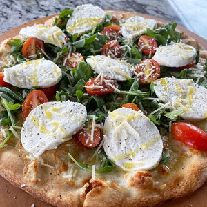 Arugula Pizza Thin Crust