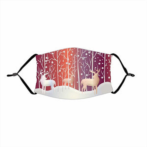 🌲🎅2020 Christmas Fabric Face Cover -06