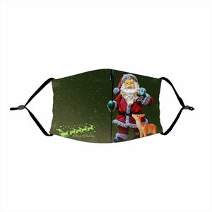 🌲🎅2020 Christmas Fabric Face Cover -12