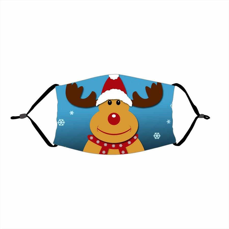 🌲🎅2020 Christmas Fabric Face Cover -13