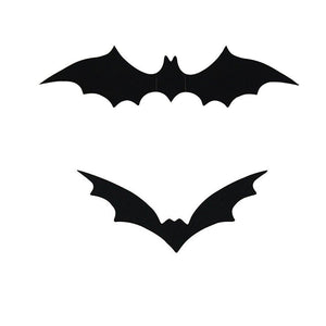 3D Decorative Scary Bats Wall Sticker (12PCS/Pack)