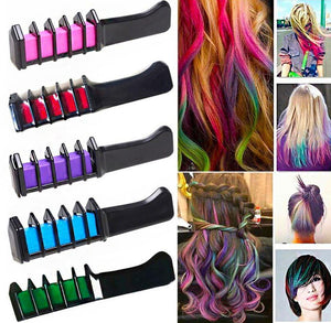 Beautifying Temporary Hair Dye Comb(6 Colors Only $14.99)