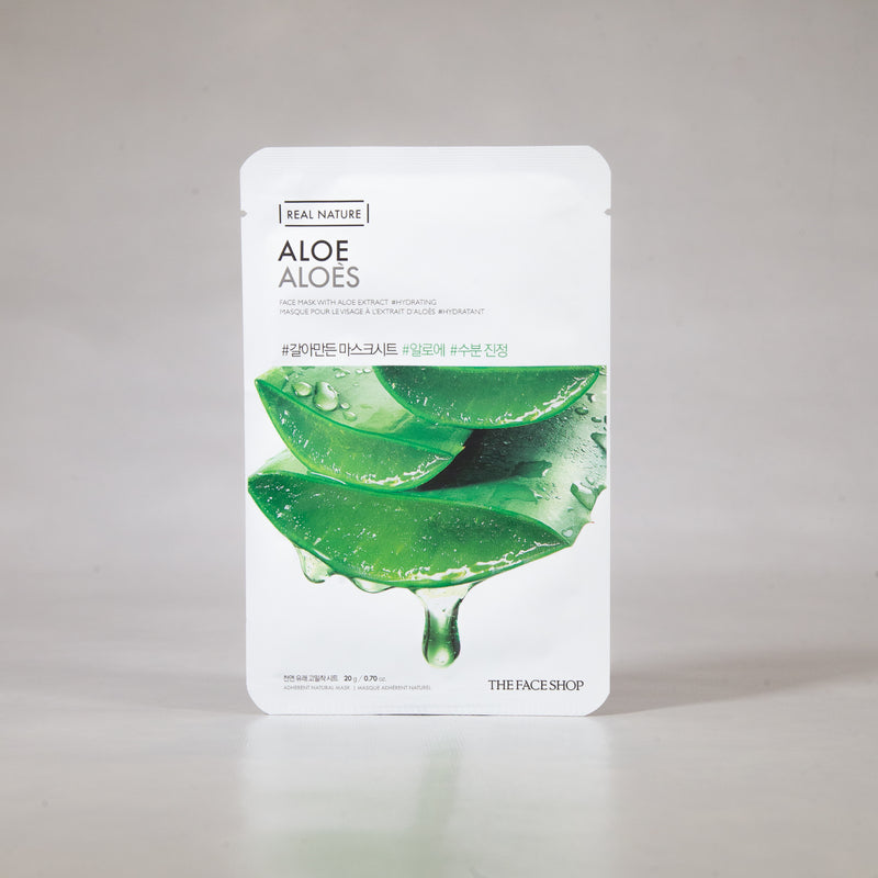 Real Nature - Aloe Sheet Mask