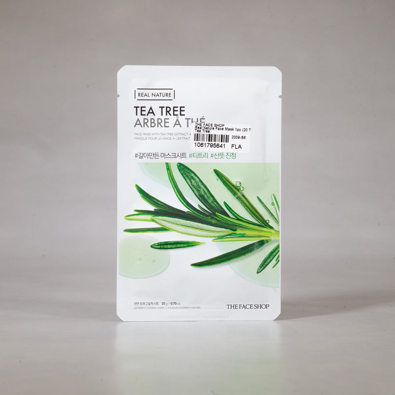 Real Nature - Tea Tree Sheet Mask