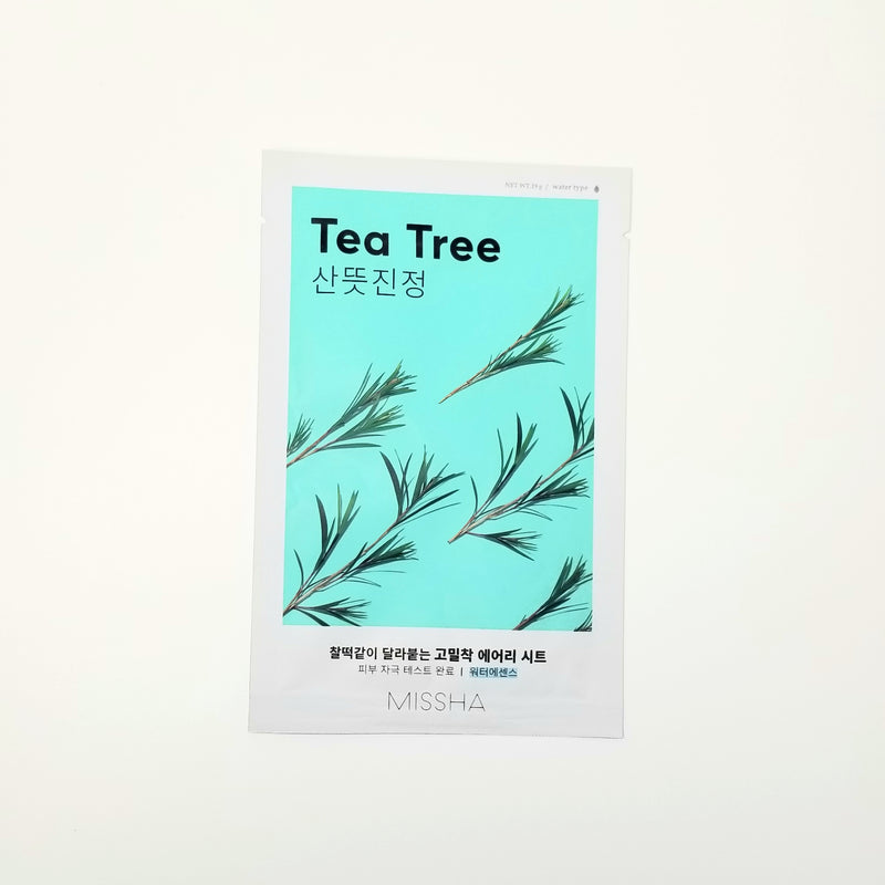 Airy Fit Sheet Mask [Tea Tree] by MISSHA