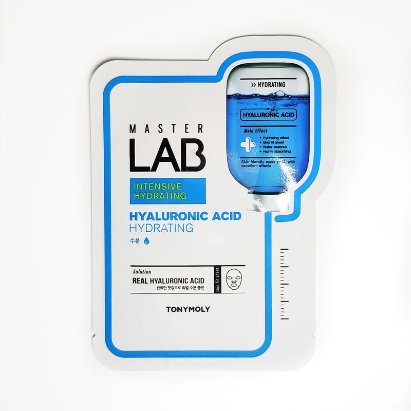 Master Lab Real Mask Sheet - [Hyaluronic Acid] 1 pack - by TONYMOLY