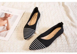 Women Flat Shoes Made of Recycled Plastic